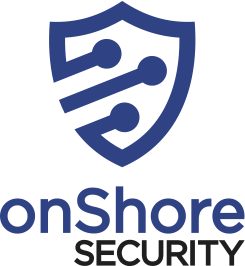 onshore security logo. OnShore Security, panoptic cybersecurity, managed cybersecurity.